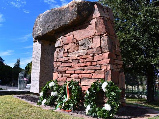 The Phoenix Irish Cultural Center Hunger Memorial - An Gorta Mor.
