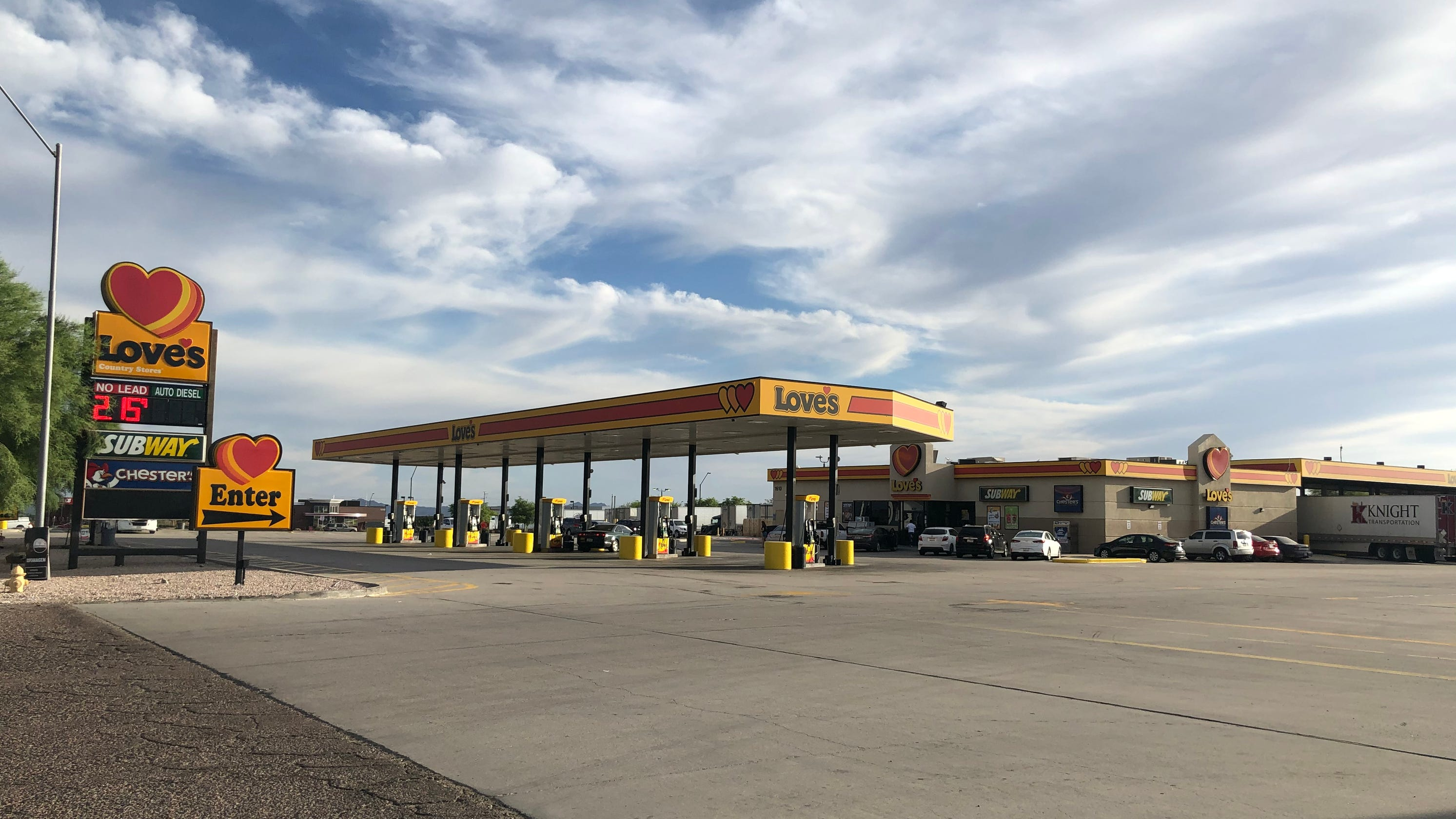 'This is not a done deal': Love's says potential Glendale truck stop could be months out