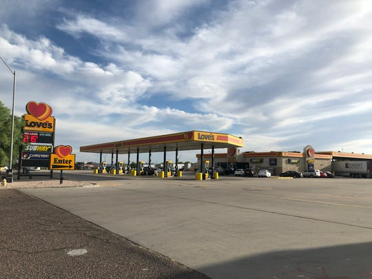A Love's Travel Stop off I-10 in Buckeye. A grassroots group of residents are opposing a potential Love's truck stop in Glendale near Loop 303.