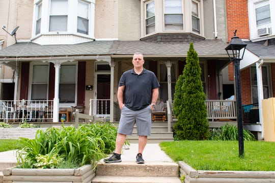 Mark Weitkamp owns three recovery homes in York, May 14, 2020.