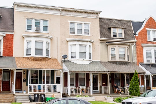 Mark Weitkamp owns these three recovery homes in York City, May 14, 2020.