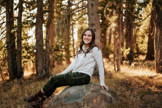 Reed senior Gabby Haag is the valedictorian and is going to the U.S. Naval Academy.