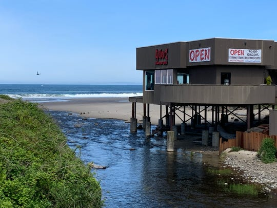 Kyllos Restaurant and Bar in Lincoln City was open for takeout on May 15, 2020, but wouldn't open for indoor service until Tuesday.
