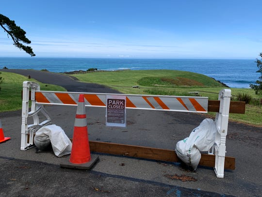 Some parks remained closed as of May 15, 2020 on the Oregon Coast in Lincoln County, even as others reopened.