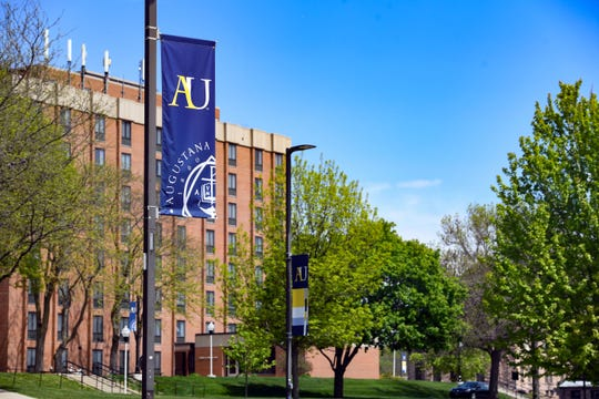 Campus remains closed on Friday, May 15, at Augustana University in Sioux Falls.