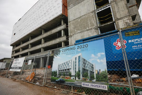 Missouri State will delay opening its new residence hall for one year.