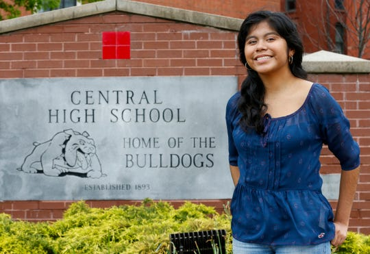 Gladis Hernandez-Silva is a first-generation student who learned to speak English in Elementary School. She will be attending Missouri State University in the fall.