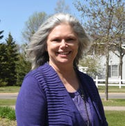 Commissioner Tarryl Clark poses for a photo at Whitney Park Friday, May 15, 2020, in St. Cloud.
