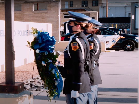 The El Paso Police Department officials created a virtual memorial to honor their fallen officers during National Police Week.