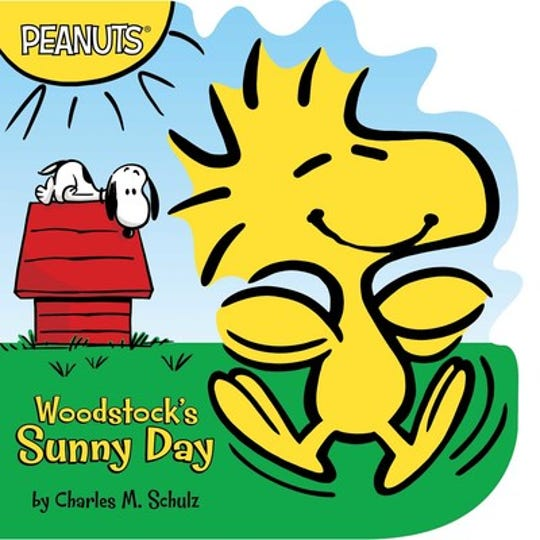 """""""Woodstock's Sunny Day"""" by Charles M. Schulz"""