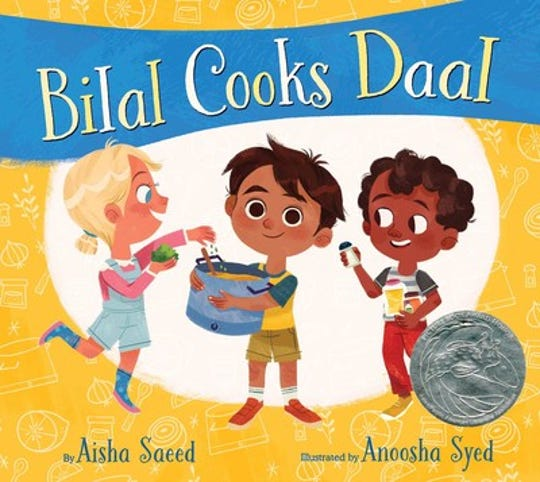"""Bilal Cook Daal"" by Aisha Saee, illustrated by Anoosha Syed"
