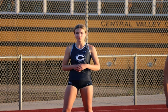 Savanna Gambini is a senior on the Central Valley Christian High School track and field team.