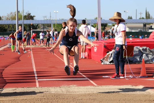 Kinley McNiece is a senior on the Central Valley Christian High School track and field team.