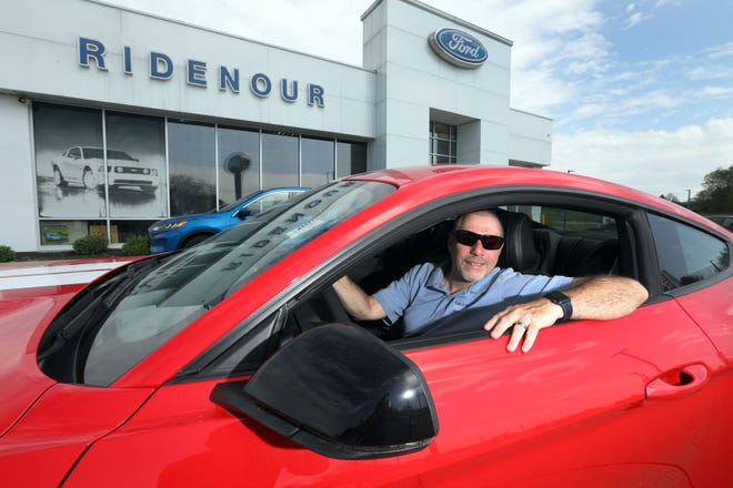 Bruce Ridenour owns Ridenour Auto Group in New Lexington. He got his start selling motorcycles in Columbus before buying Newlon Motors in 2007.