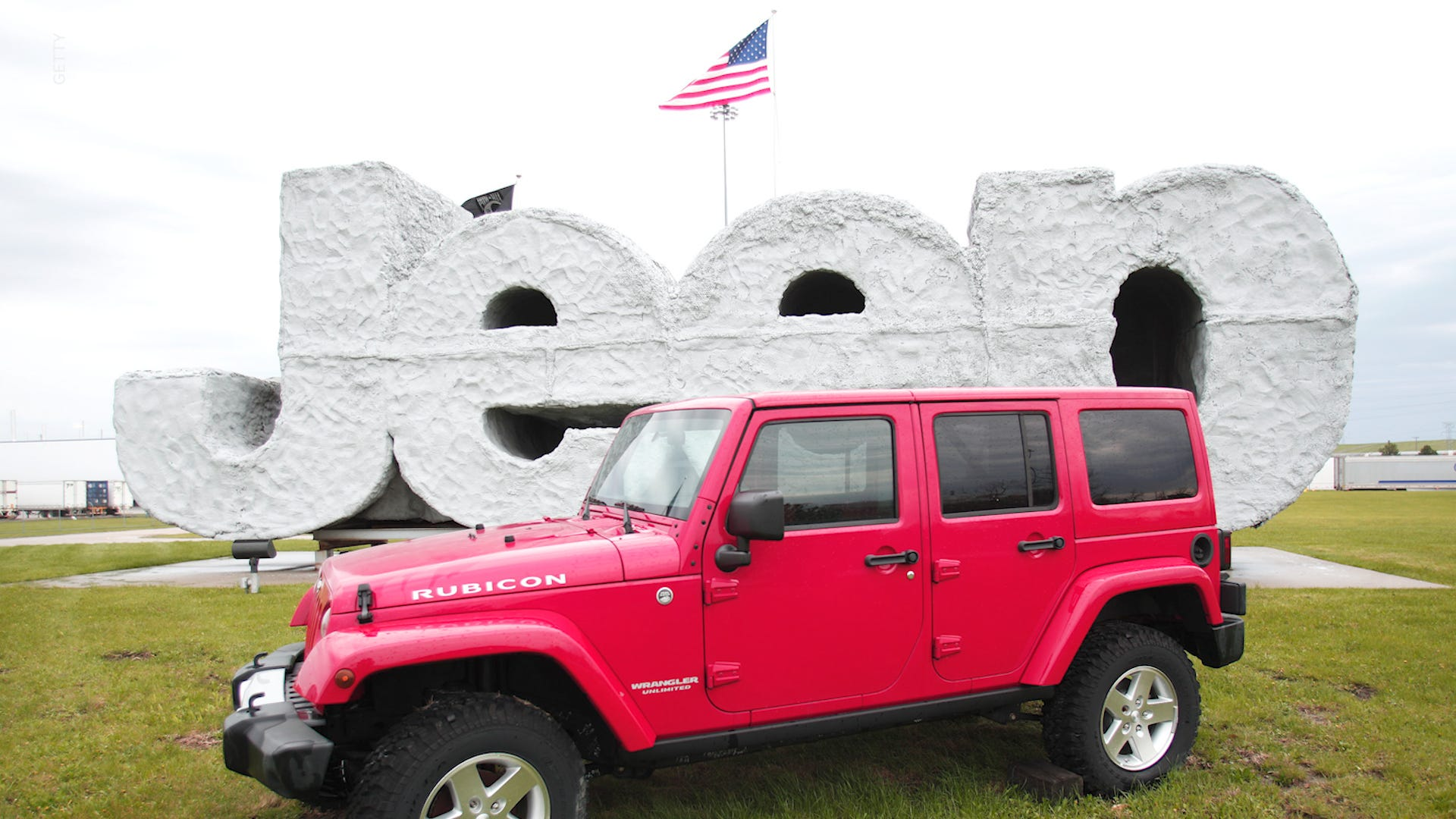 Jeep Easter Eggs Tiktok Goes Viral After User Finds Them On His Car