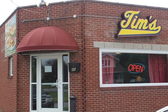 Tim's Bar and Grill began outside dining Friday on its patio and will start seating customers inside Thursday, the first day restaurants are allowed to under a new state order.