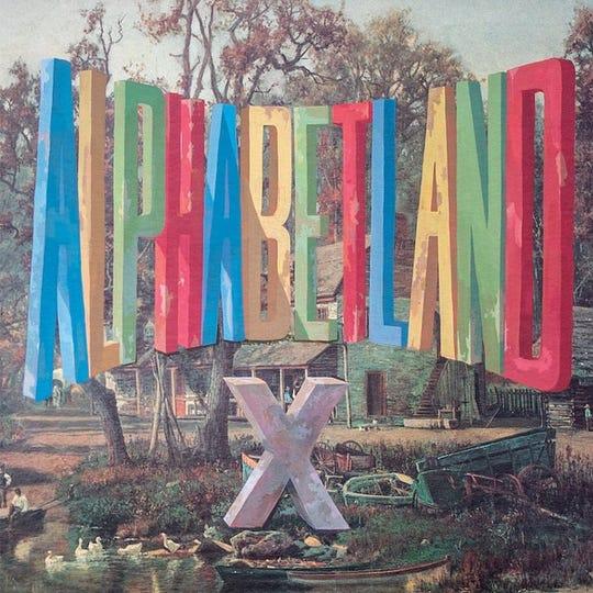 """""""Alphabetland"""" by X"""