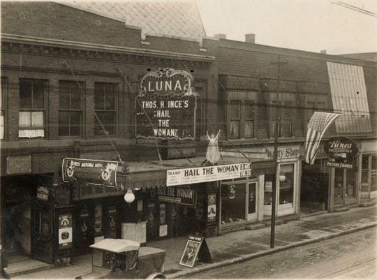 The Luna Theater stood in the 600 block of Main Street in downtown Lafayette from 1913 until 1958.