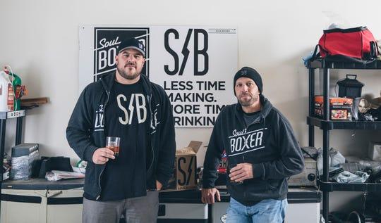 Jason Neu (left) and Doug MacKenzie of SoulBoxer.