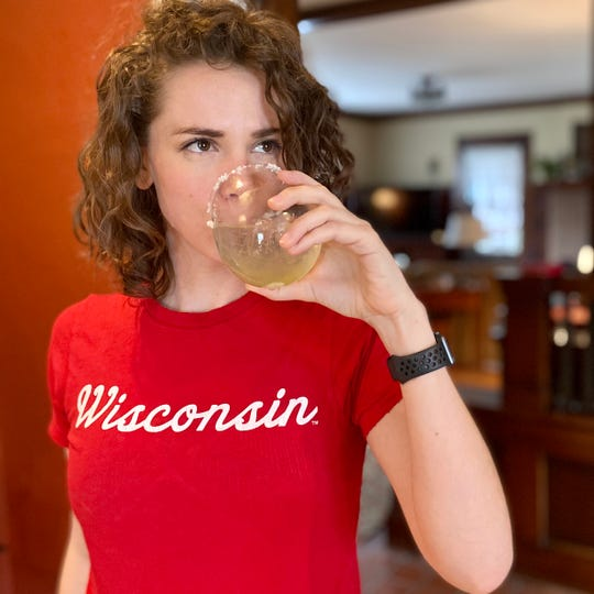 "Kristin Brey, creator of the website, ""As Goes Wisconsin."""
