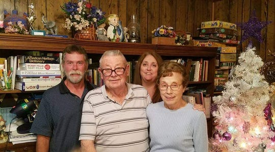 Dorothy and Jean Jones, front, were married for 66 years when Jean passed away from coronavirus complications on May 14. Dorothy is currently recovering after a hospitalization.