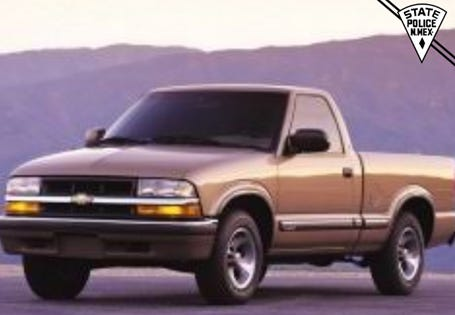 A stock photograph of Chevrolet S-10