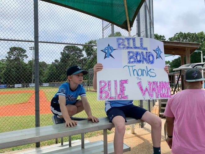 Pensacola Blue Wahoos employees refurbished Bill Bond League baseball fields last week. Bill Bond League is hopeful for a summer season amid the COVID-19 pandemic.