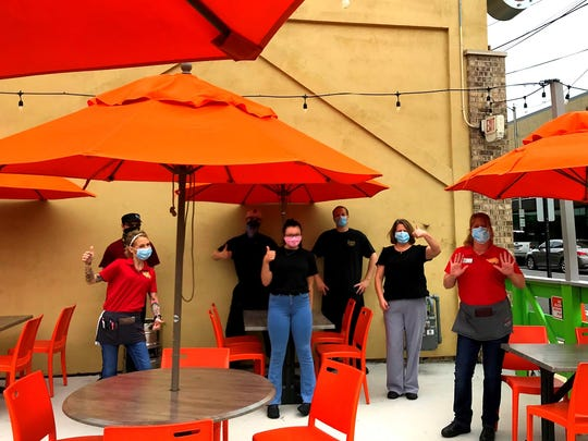 Employees at The Garrison in downtown Fremont have been eager to get back to work and serve guests again.