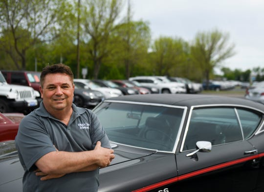 CEO of Big City Motors Rod Woelfel poses for a portrait on Thursday, May 14, 2020 at Big City Motors in Sioux Falls, S.D.