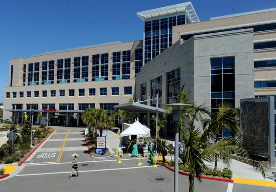 The new normal at Community Memorial Hospital in Ventura and other area hospitals include screening areas outside the hospital and efforts to show people it is safe to use the emergency room in the time of COVID-19.