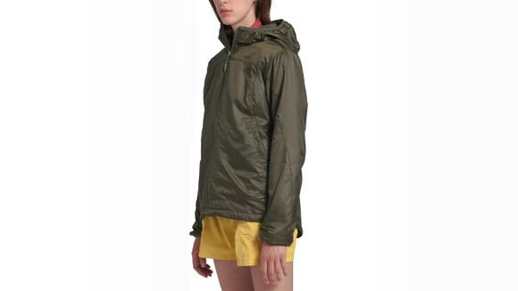 Howling winds don't stand a chance against this jacket.