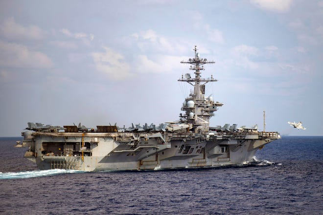 Five sailors of USS Theodore Roosevelt have been removed due to testing positive for coronavirus