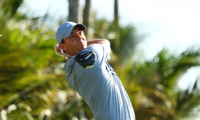 Rory McIlroy, the world's top player, came through at the end of Sunday's match.