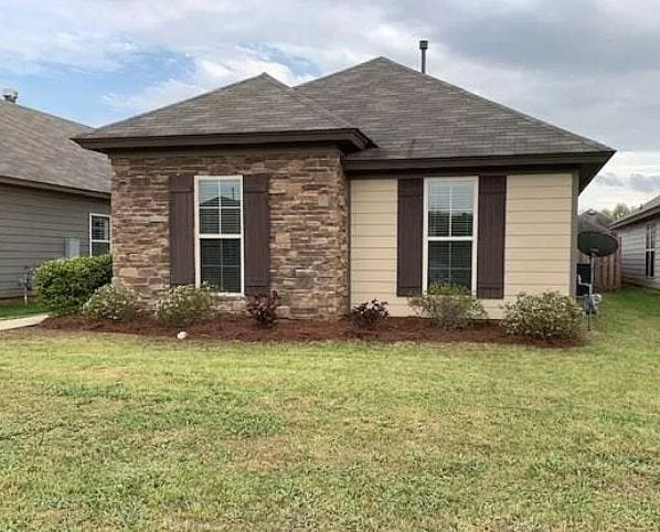 One Grand Park home is for sale for $165,900 and provides three bedrooms and two bathrooms within 1,350 square feet of living space. The home was built in 2014.