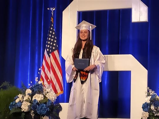 Madisen Rogers graduates in May 2020.