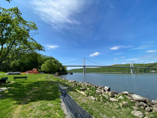 A view of a sunny day at Waryas Park in the City of Poughkeepsie on Sunday, May 17, 2020.