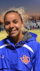 San Angelo Central's Juliana Covey will continue her track career at Division III Bowdoin College in Maine.