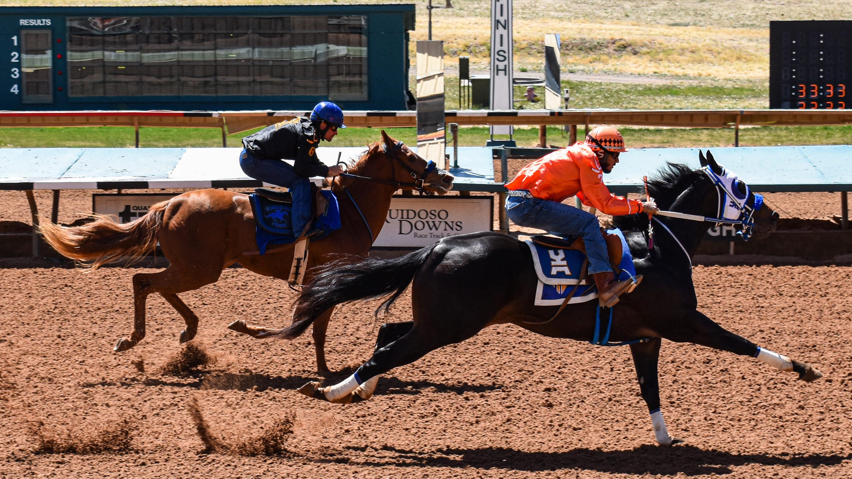 Live updates: Rainbow Futurity trials, Day 1 from Ruidoso Downs