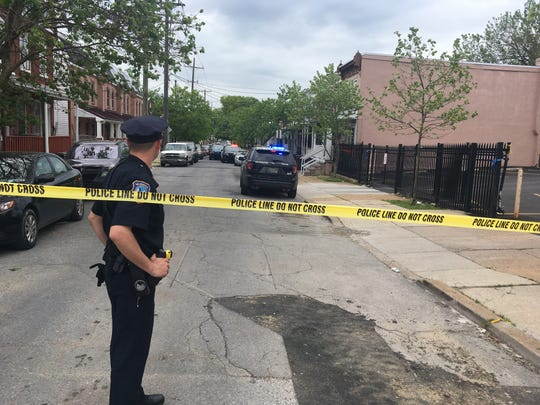 Wilmington Police investigate an apparent shooting in the 1800 block of West 3rd Street Sunday afternoon.