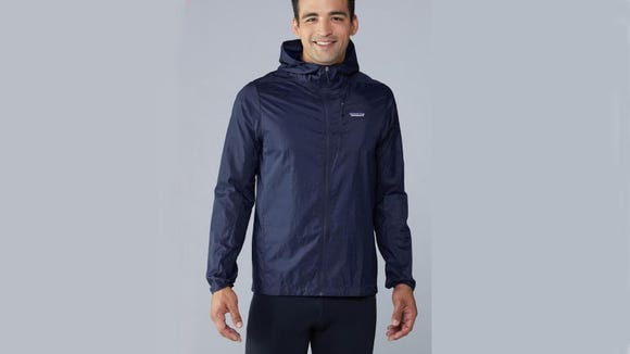This jacket blocks out rain and wind, no problem.