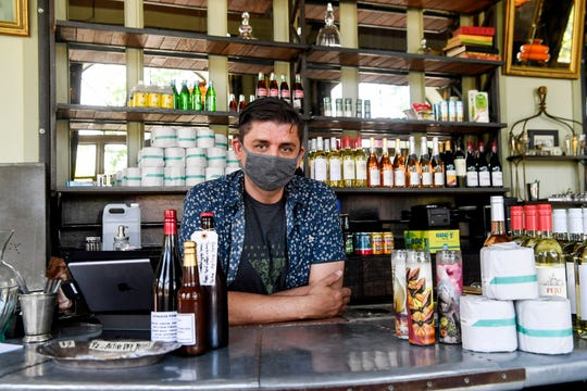 Bar owner Charlie Hodge has shifted his cocktail bar and restaurant, Sovereign Remedies, into a bodega.