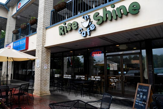 Rise N Shine Cafe was cited by Asheville Police May 18for non-compliance with COVID-19 guidance.