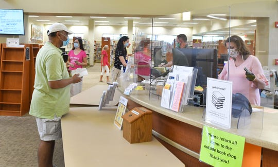 The Suntree/Viera Public Library is one of nine Brevard County libraries that have reopened.