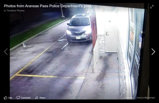 Aransas Pass police are seeking information about a shooting at Whataburger on May 18, 2020. Anyone with information should call Tri-County Crime Stoppers at 361-758-8477.