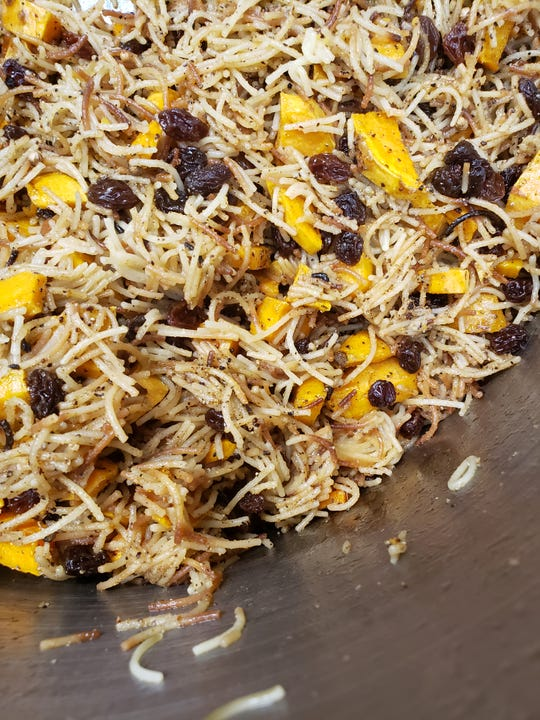 Azzezah Ali's Iraqi biryani is the first meal kit available from The Welcome Table project. Kits are available for $20 from Dean's Mediterranean Imports at Findlay Market and The Welcome Project in Camp Washington.