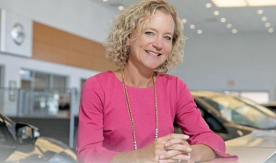 Carter Myers Automotive CEO Liza Borches. The Charlottesville, Virginia-based company has 15 stores in Virginia. Since coronavirus hit in mid-March, the company has seen its home delivery of sold cars shoot up from less than 5% of new vehicle sales to more than 20%.
