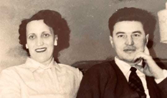 John and Emilia Stubits in the late 1950s.