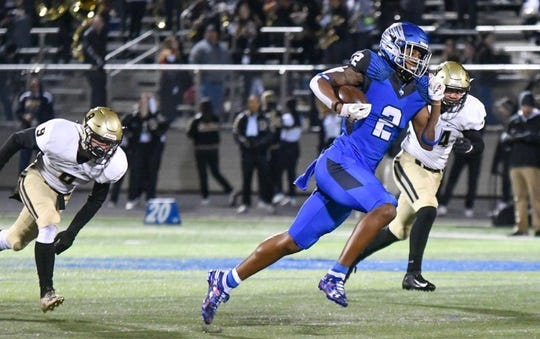 Michigan State tight end commit Kameron Allen transferred to North Forney High School after two years at Mesquite Poteet.