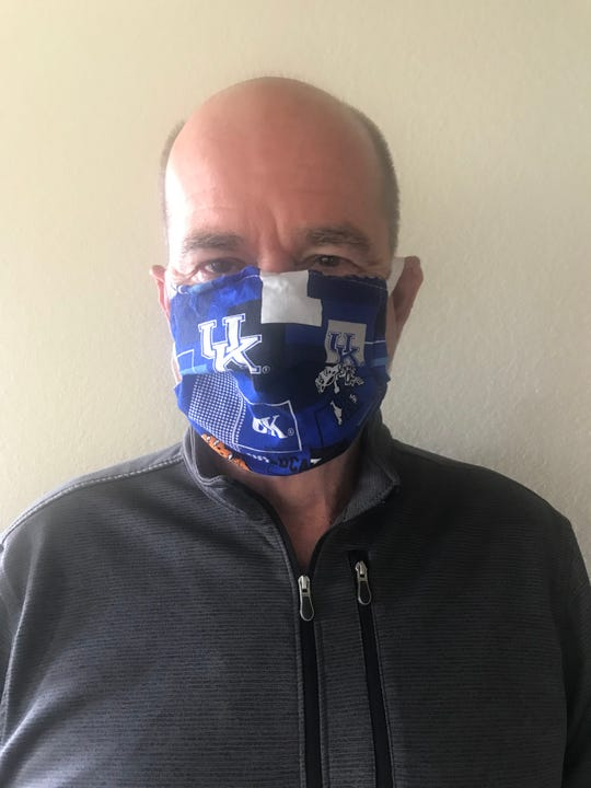 """I wear a mask — mine has a Kentucky Wildcats logo and was made by my sister — to protect myself and others,"" Nolan Finley writes."
