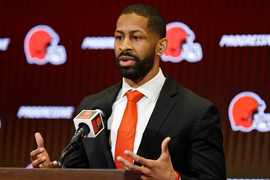 Cleveland Browns' Andrew Berry is one of only two general managers of color in the NFL.